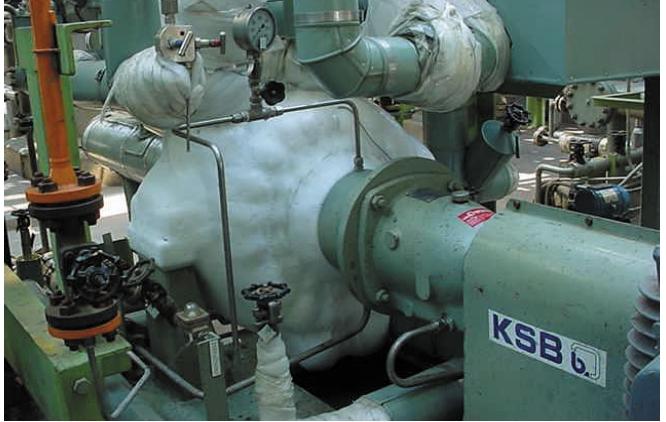 Насосы RPHmdp для перекачивания углеводородов при рабочей температуре –65°C