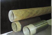 Рис. 1. Типовые оболочки диаметром 90 мм и футерованные ими стальные трубы