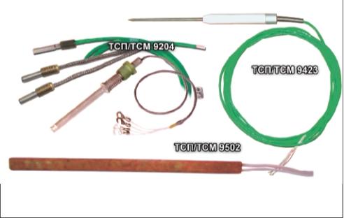 Рис. 3. Термопреобразователи сопротивления ТСП/ТСМ 9204, ТСП/ТСМ 9423, ТСП/ТСМ 9502