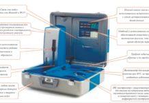 Рис. 4. Новая минилаборатория для анализа масел. Обучение работе проводит компания BALTECH