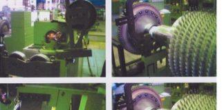 Рис. 2. Роторы газоперекачивающих агрегатов, отремонтированные с применением новых технологий
