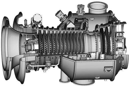 Газотурбинный двигатель ГТУ-8