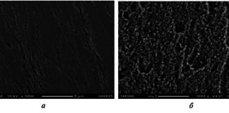 Рис. 4. Уплотнение поверхности при испытаниях двигателя с использованием LPG с присадкой Octimise™V 4010 (а) по сравнению с транспортным средством с изношенной поверхностью (б)