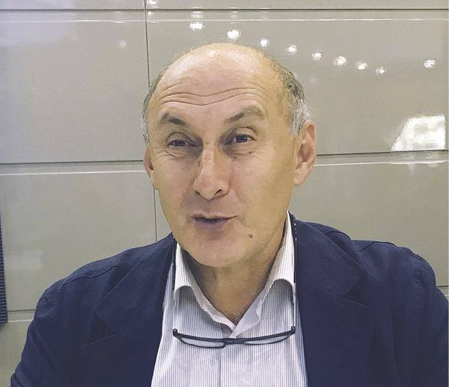Заместитель директора по вопросам производства АО «Рустави Азот» Александр Хмиадашвили