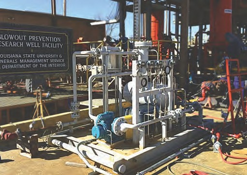 Рис. 8. Испытания мультифазной станции Leistritz для удаления жидкости в газовых скважинах