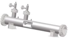 Рис. 2. Смеситель нефти с водой со смесительным стержнем для нефтезаводской ЭЛОУ