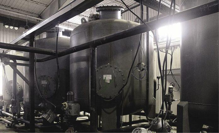 Сооружение по очистке нефтяных шламов