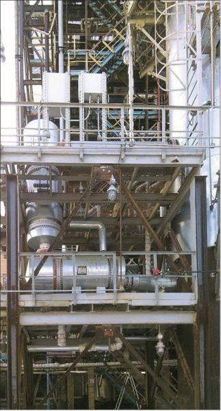 Испаритель куба колонны К-148 установки ПТБФ-2000