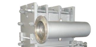 Пластинчатый теплообменник с разборным корпусом