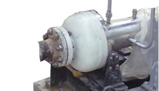 Рис. 8. Модернизированные насосы ЦГ 50/50 и ЦГ 25-80