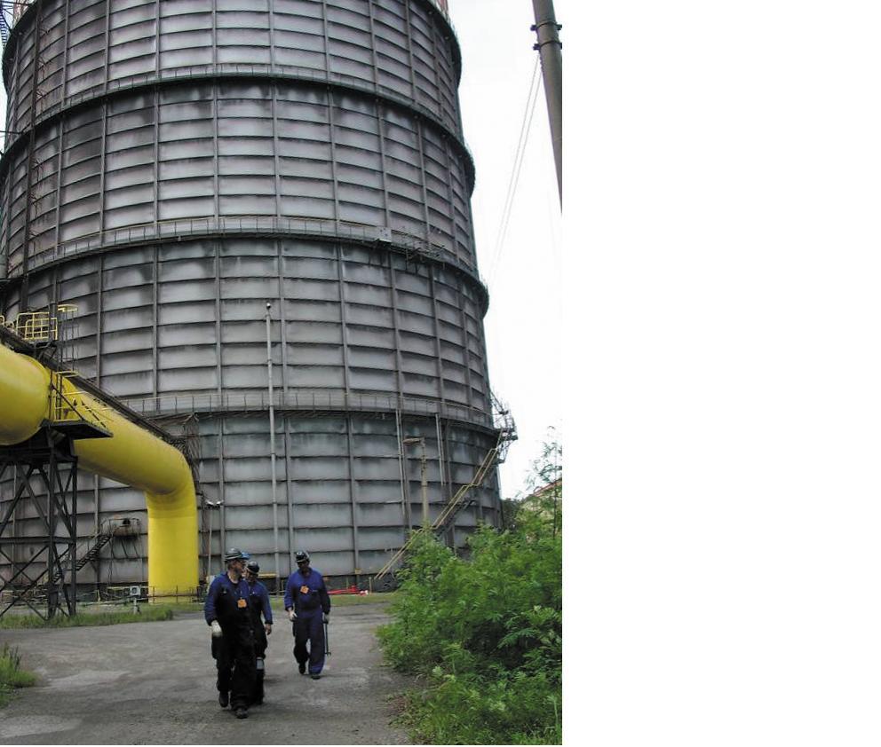 Рис. 2. Резервуар хранения сжиженного газа (г. Виктория, Бразилия)