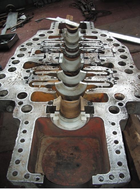 Рис. 2. Разъем центробежного компрессора