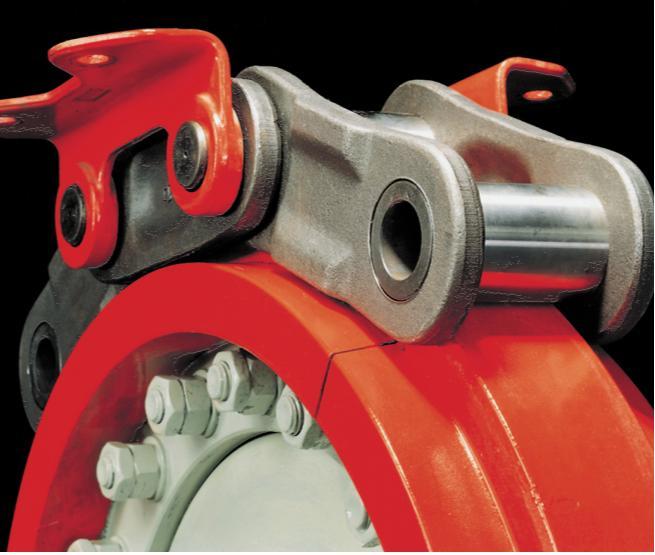 Гладкое приводное колесо со сменными сегментами