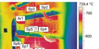 Рис. 5. Результаты проведенного тепловизионного контроля
