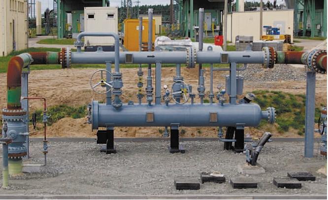 Рис. 4. Пример установки сепаратора LCK-Эм