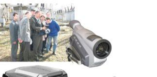 Рис. 5. Дефектоскопы: а – камера «DayCor» , 2004 г. (снаряженная масса ~7 кг); б – камера «CoroCAM 504», 2011 г. (масса 2,3 кг); в – камера «CoroCAM 6D», 2014 г. (масса 1,9 кг); г – прибор MultiCАM («CoroCAM8»), работающий в трех спектрах (ИК + УФ + Видео), 2015 г.