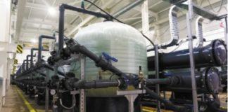 Рис. 2. Система боковой фильтрации производительностью 2 200 м3/ч (ЗАО «Сибур-Химпром» г. Пермь)