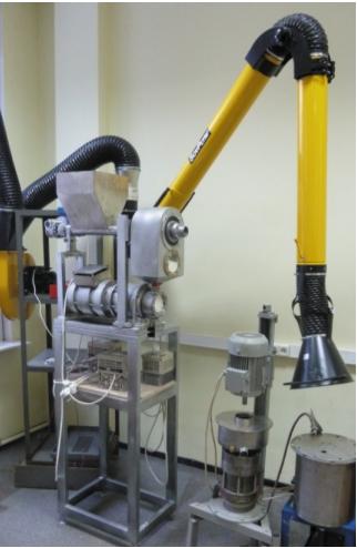 Экспериментальный стенд для исследования процессов волнового перемешивания жидких и вязких сред