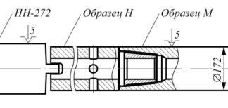 Рис. 2. Схема установки образцов в станок