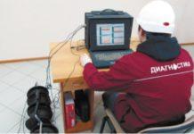 Рис. 3. АЭ система ALine 32D в режиме стационарного мониторинга адсорбера