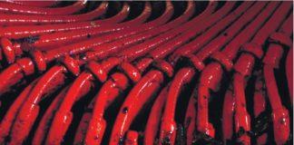 Рис. 3. Пример загрязнения обмотки статора испытываемого АЭД