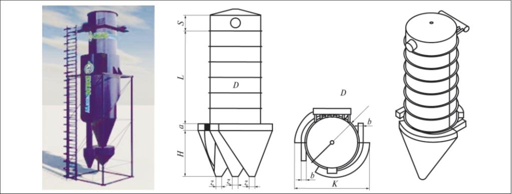 Рис. 3. Циклофильтр