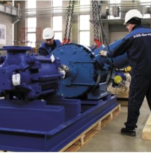 Агрегатирование насоса и двигателя