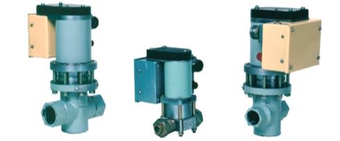Рис. 6. Клапаны серии КУМ-Г (нормально открытые) DN-25, 10, 20 мм