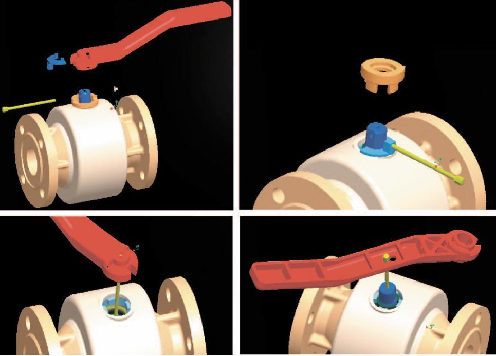 Рис. 4. Замена сальникового уплотнения с помощью универсальной рукоятки