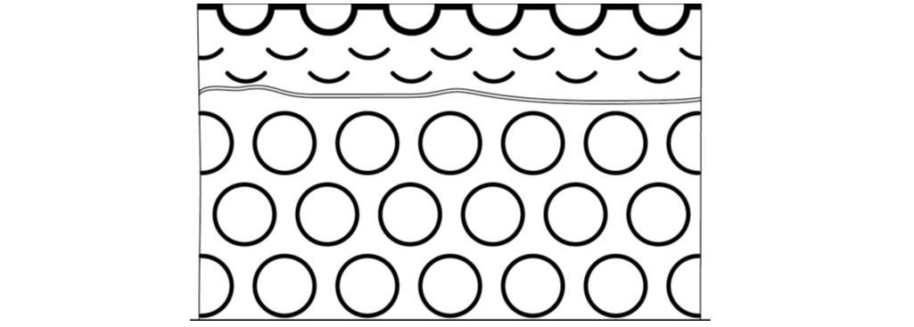 Рис. 5. Муфтовое уплотнение в виде гофрированной втулки