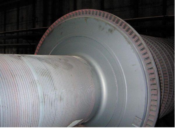 Рис. 3. Турбина К-215-130 Харанорской ГРЭС после ПВКО, П и К