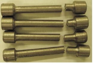 Рис. 6. Результат механических испытаний образцов, изготовленных из демонтированной трубы