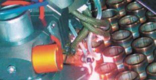 Рис. 4. Сварка труб с трубной доской компьютеризированным сварочным аппаратом