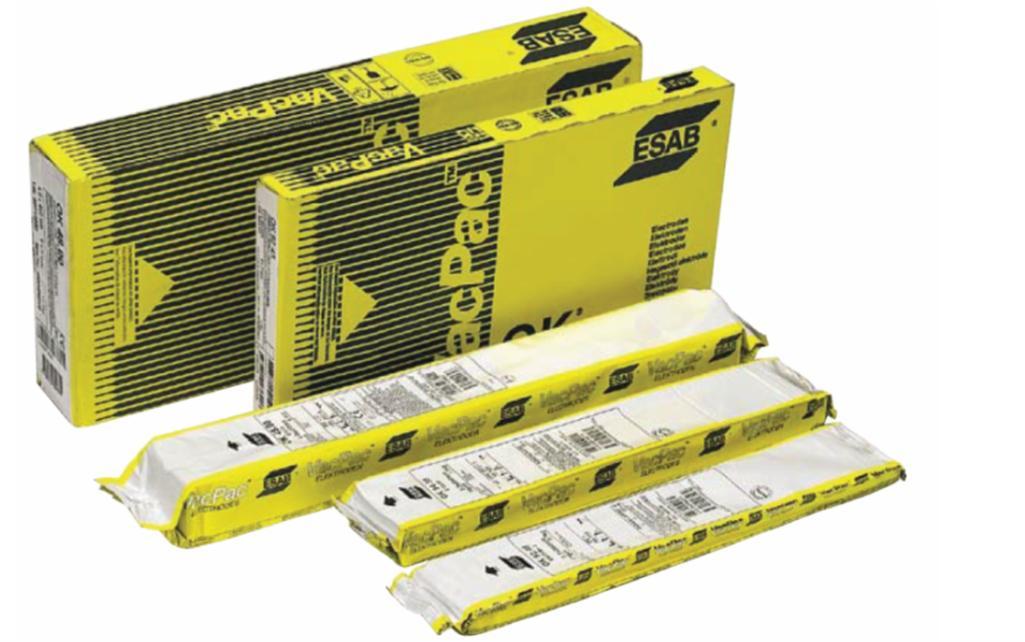Рис. 3. Электроды в упаковках ESAB VacPac™