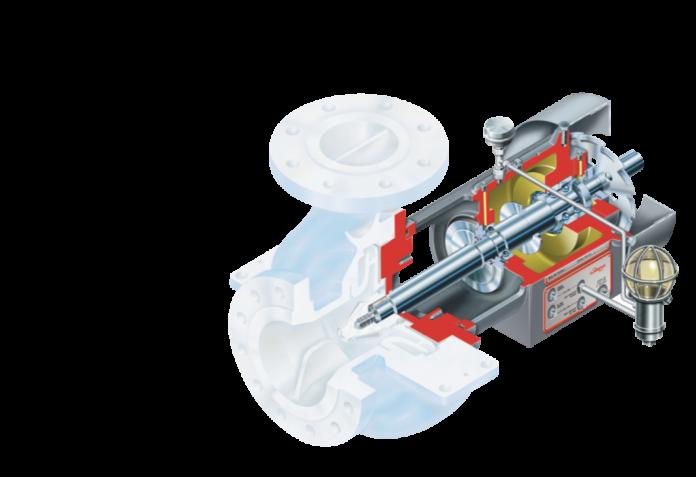 Приводная часть насоса по программе модернизации RVX