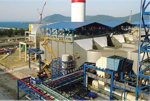 Рис. 1. Газоочистная установка электрофильтров АО «Кондор – Эко» на ТЭС Вунг Анг-1, Вьетнам, 2014 г.