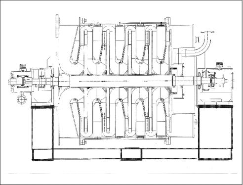 Рис. 2. Воздушный нагнетатель РТКВ-350-5