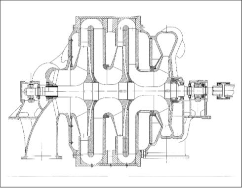 Рис. 3. Нагнетатель Н2470-31-1 для подачи воздуха в установку каталитического крекинга ОАО «Уфанефтехим»