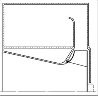 Рис. 8. Проточная часть вентилятора РЦВ 48/1000