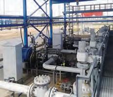Рис. 3. Насосные агрегаты АНДМс 250-480 в насосной станции НМПП