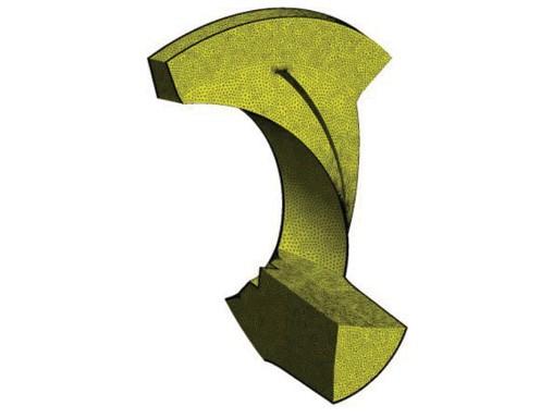 Рис. 11. Сетка, использованная для расчета
