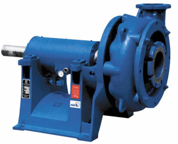 Насос LCC-M. Соприкасающиеся с перекачиваемой средой детали (корпус, рабочее колесо и вакуумная плита/втулка) из отбеленного чугуна. Оптимизированная конструкция для простого монтажа и демонтажа для проведения технического обслуживания и инспекционных осмотров. Область применения Оптимально подходит для больших напоров, предназначен для перекачки сильно корродирующих жидкостей с со- держанием твердых материалов, в промышленных установках сероочистки, в горнодобывающей промышленности, гидротранспорте золы и вскрышных пород. DN, мм 40…900 Q, м3/ч До 3405 H, м До 90 р, бар До 16 T, °C До 120