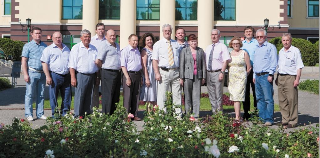 Участники выездного Совета главных механиков