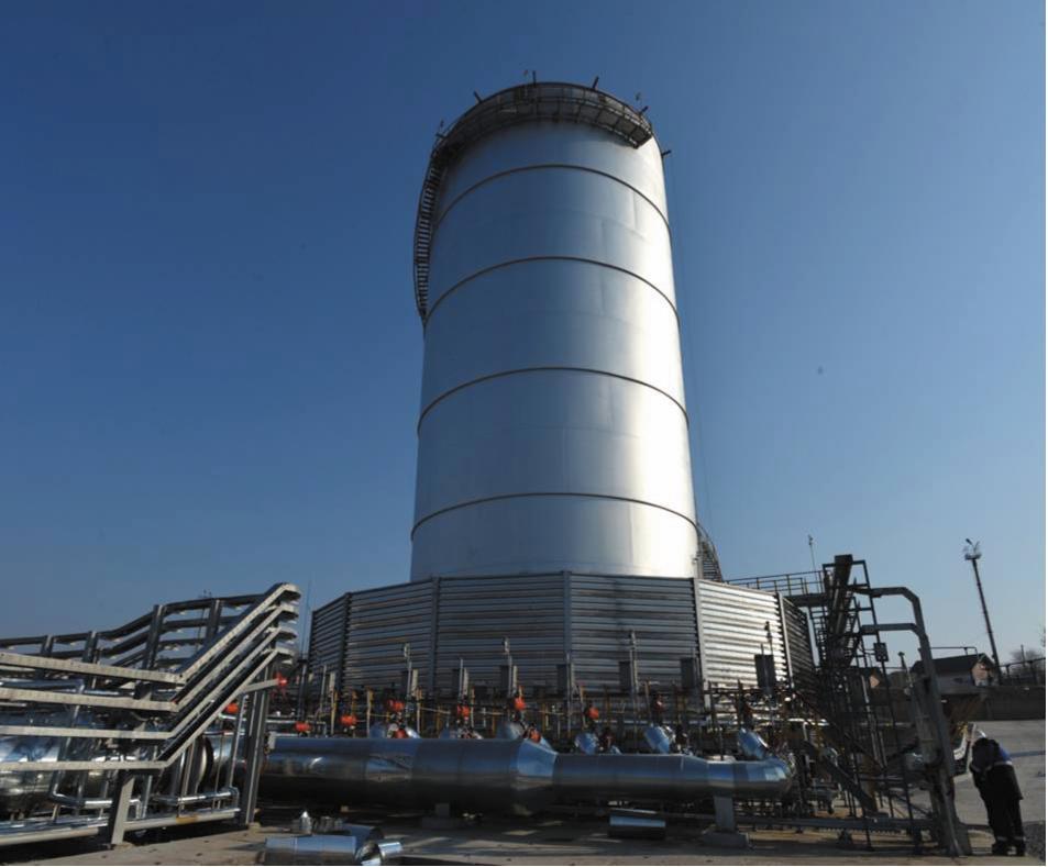 Факельная установка закрытого типа. Эффективность удаления продуктов, разрушения газообразных отходов при использовании такой системы превышает 99,9%