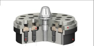 Пример конструкции клапанов с магнитными толкателями