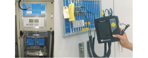Рис. 2. Подключение виброанализатора VIBXPERTII (а) и стационарных систем мониторинга и диагностики (б) к системе защиты Bently Nevada