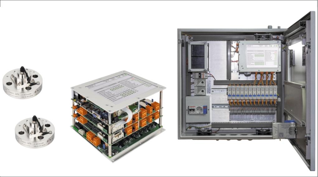 Рис. 2. Регистрирующие модули системы ИСМТ