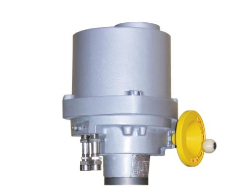 Неполноповоротный электропривод ЭПНВ (12 000 Н•м, время поворота на 90° – 32 с)