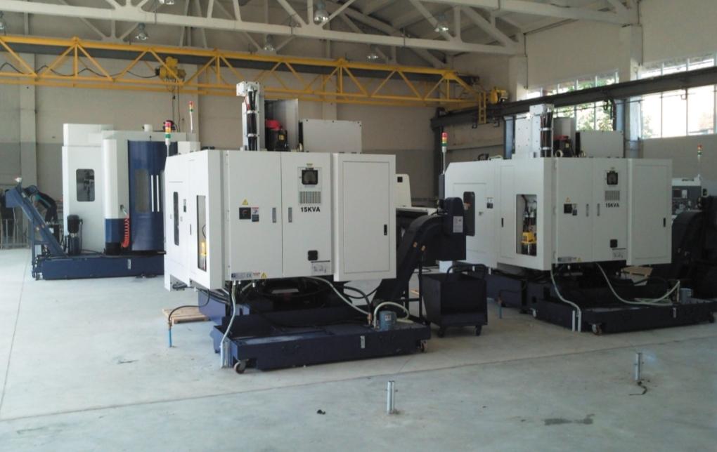 Монтаж и наладка станков с числовым программным управлением в новом цехе неполнооборотных электроприводов