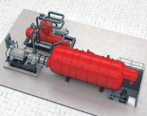 Рис. 2. Пример реализации ORC-технологии на оборудовании Siemens